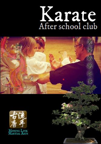 kids karate after school club